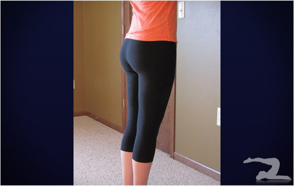 This girl teaches at some school, and loves wearing yoga pants. She ...