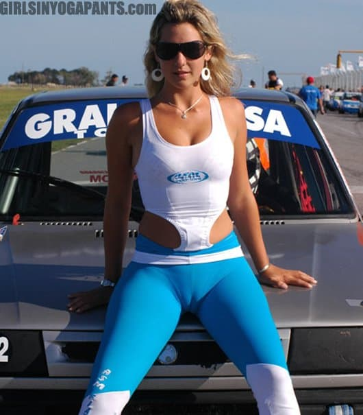 Cameltoe beautiful model in event Part 8 9