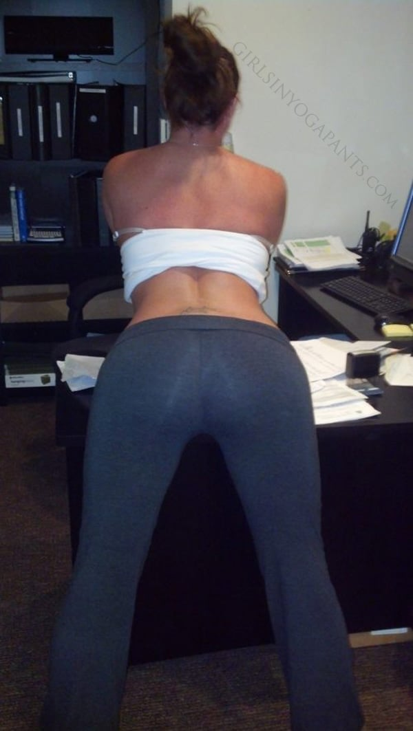 Assume The Position  Hot Girls In Yoga Pants  Best Yoga -7573